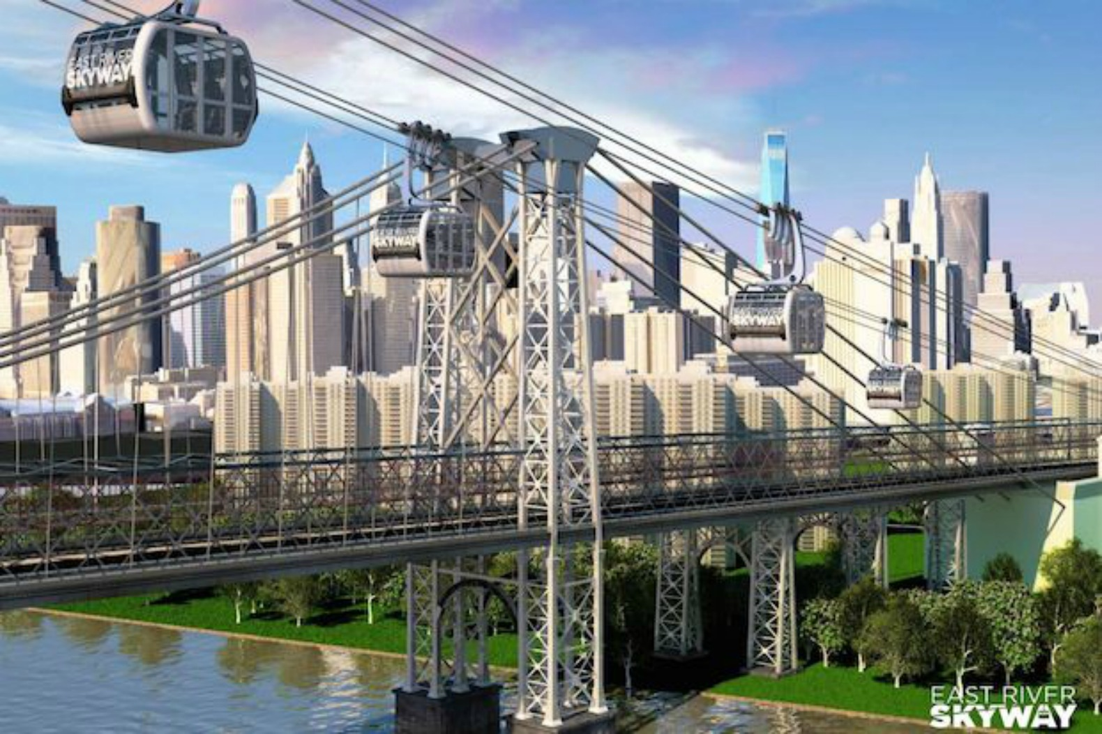 Impending L train shutdown could make way for gondola over East River