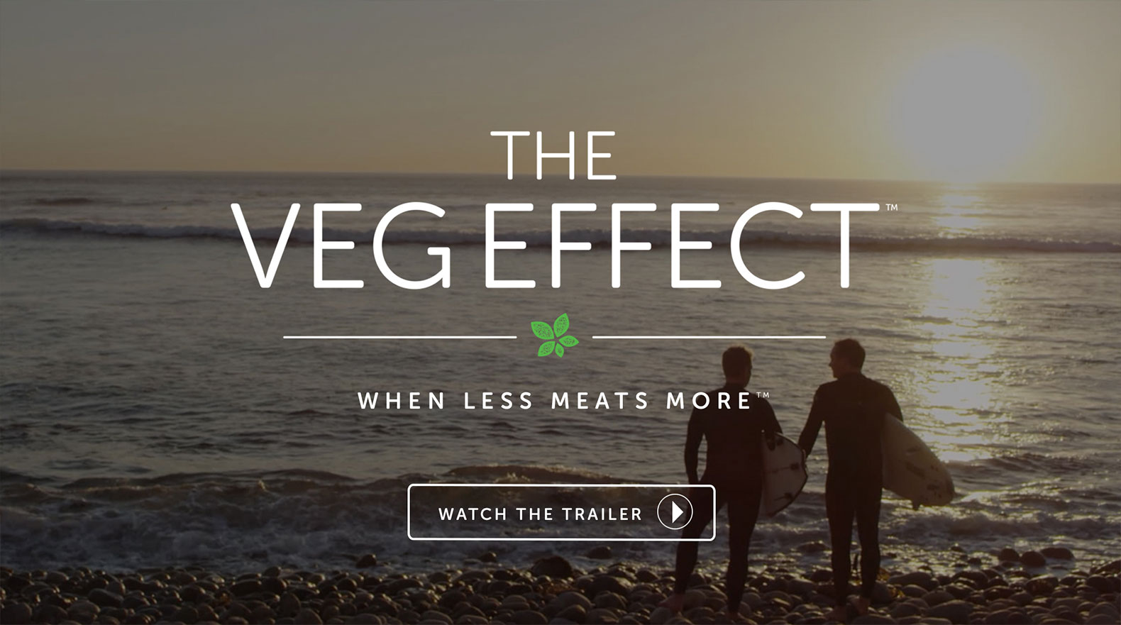 Instead of making meat eaters feel guilty, The Veg Effect shows what people *can* do to help animals, their health and the planet