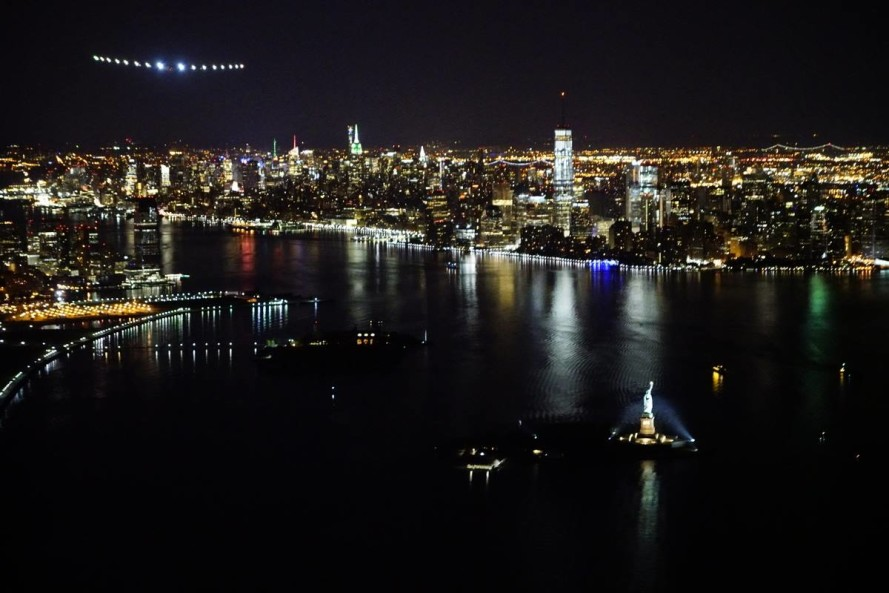 Solar Impulse 2 lands in New York City, final U.S. destination