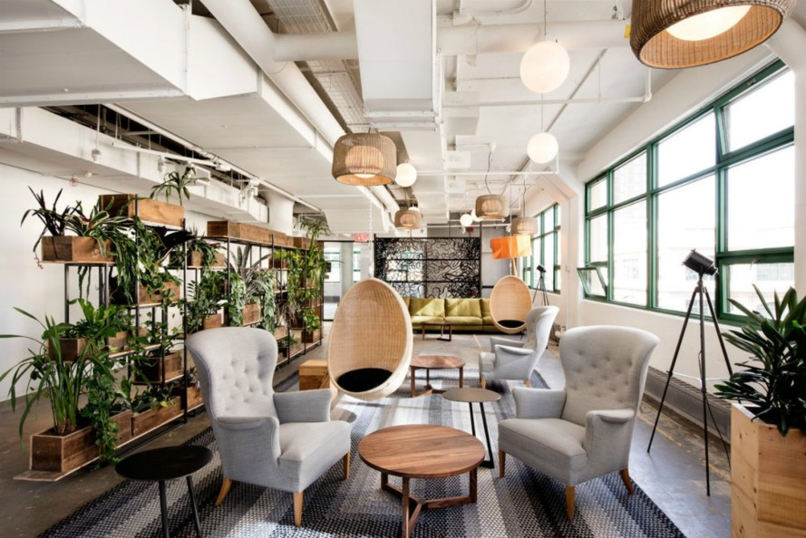 Etsy's new Brooklyn headquarters is a green oasis filled with vertical gardens and sustainable features