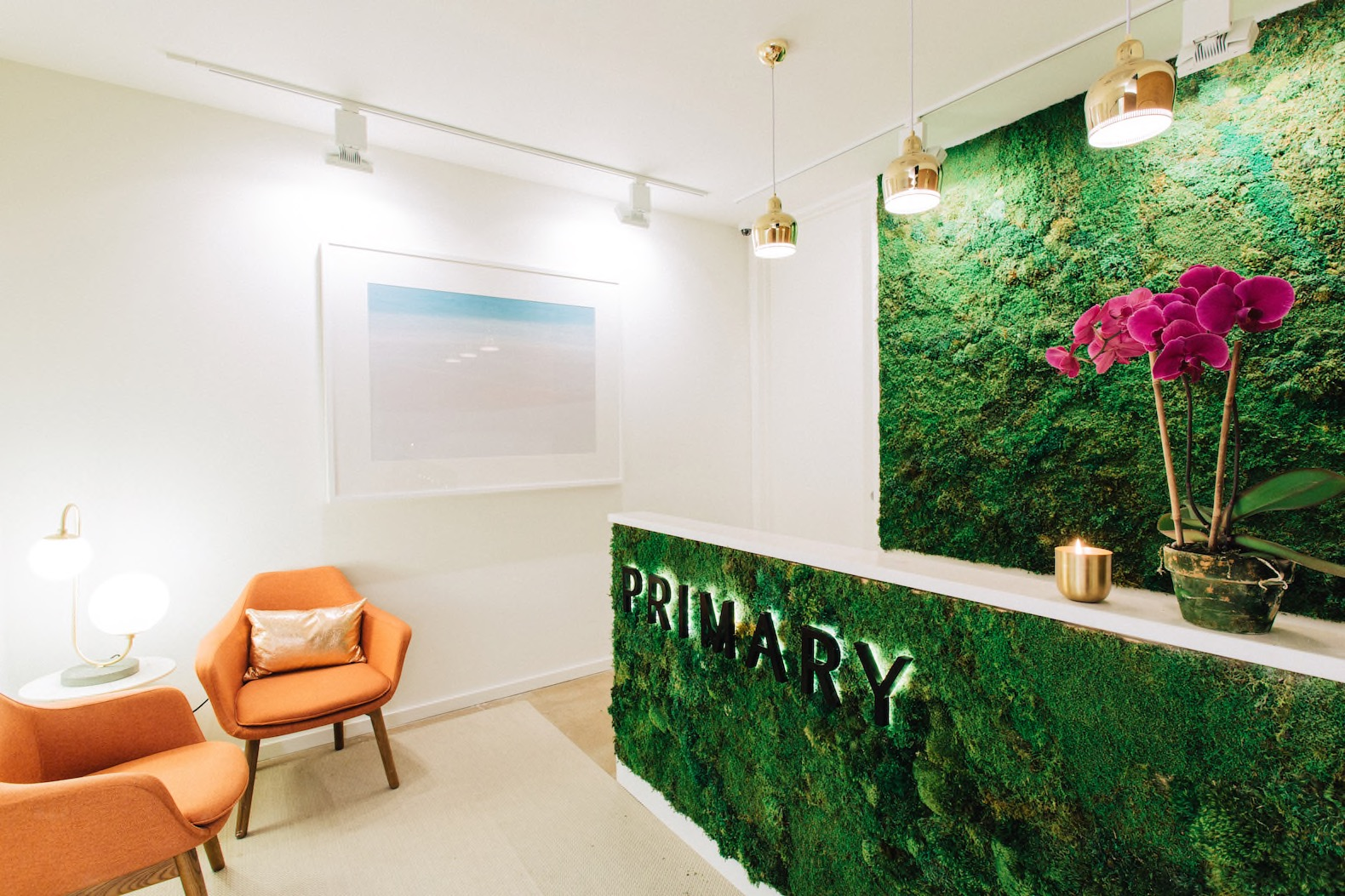 Green walls and a yoga studio are just some of the perks at this new wellness-focused co-working space