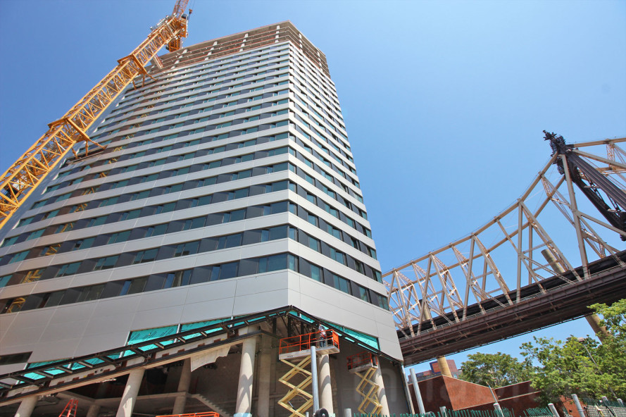 VIDEO: World's tallest Passive House building rises at Cornell Tech Campus on Roosevelt Island