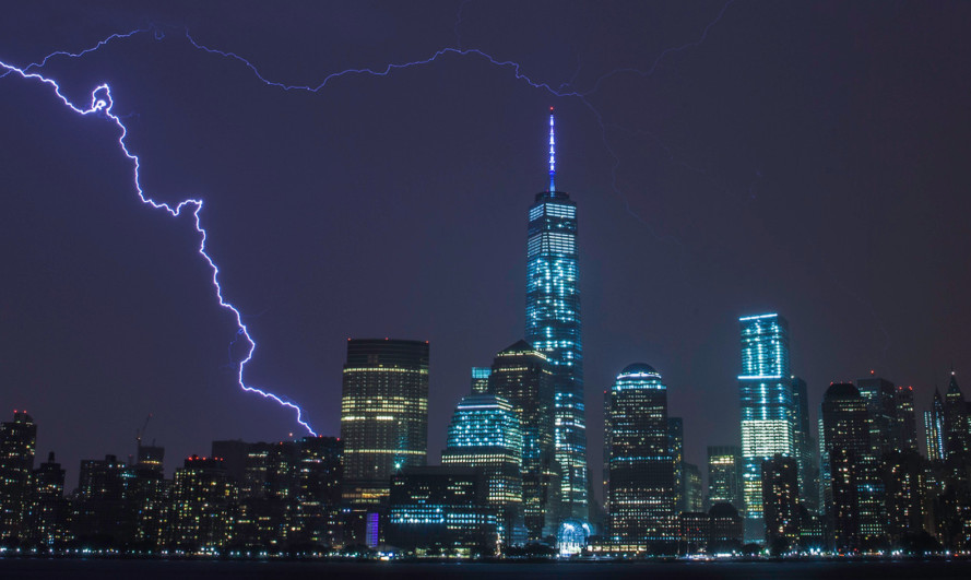 Yesterday's storm caused NYC electricity prices to spike 1000 percent