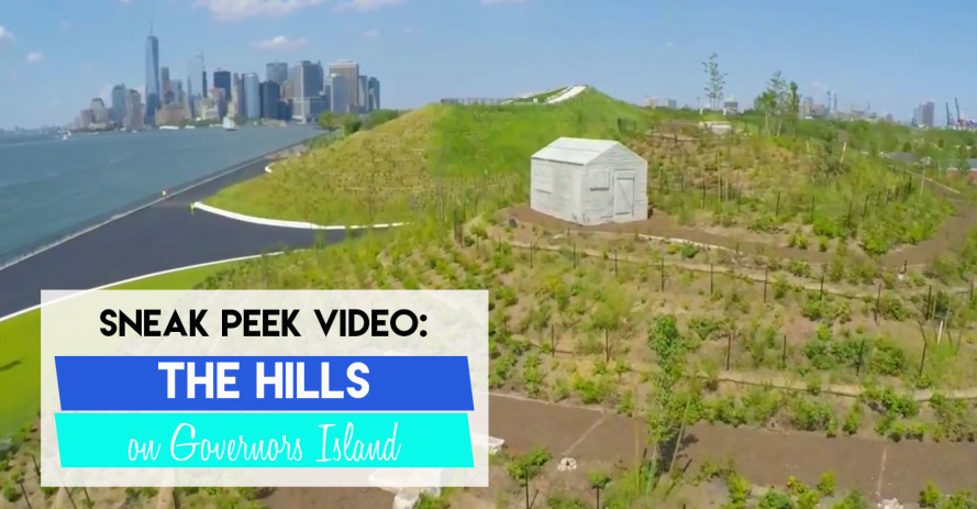 The Hills: Massive new park with longest slide in NYC opens today on Governors Island