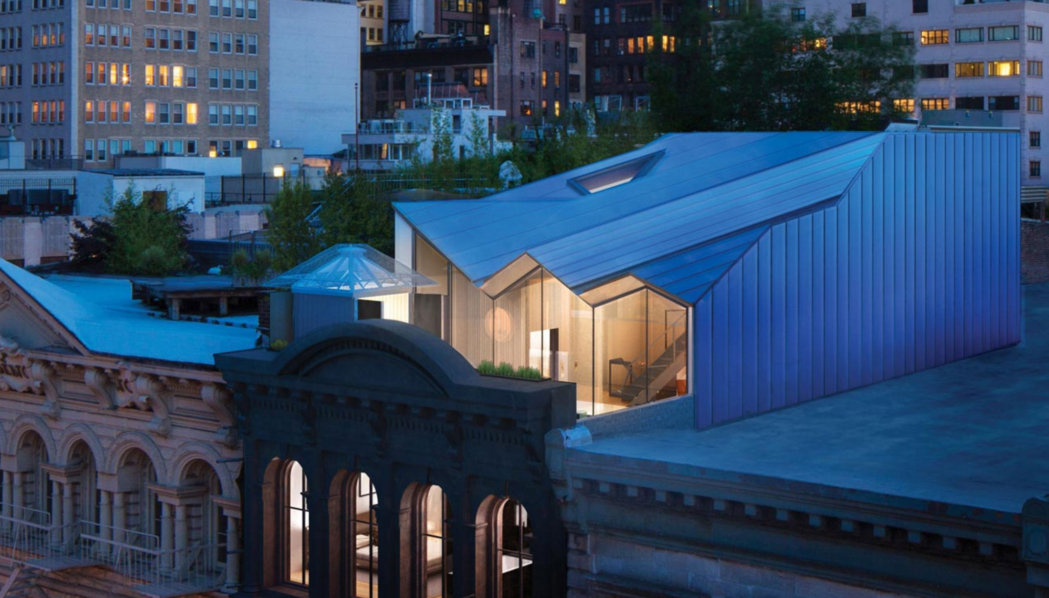 Very few people actually get to see this hidden rooftop penthouse
