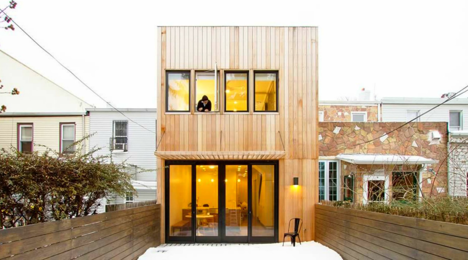 Century-old row house transformed into modern home that can flex with the owners' needs