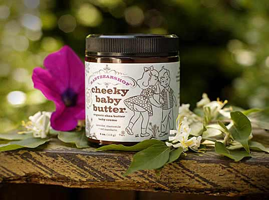 Baby Bear Products, certified organic, Cheeky Baby Butter, all natural skin care, mama baby skincare