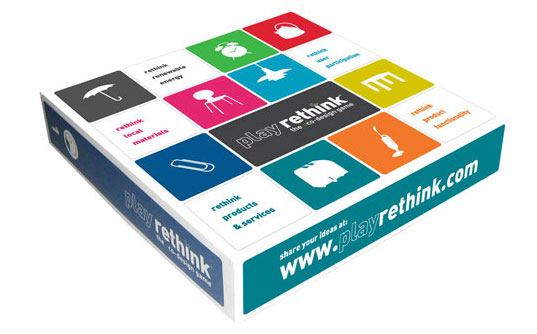 Play ReThink: Eco Design Board Game | Inhabitots