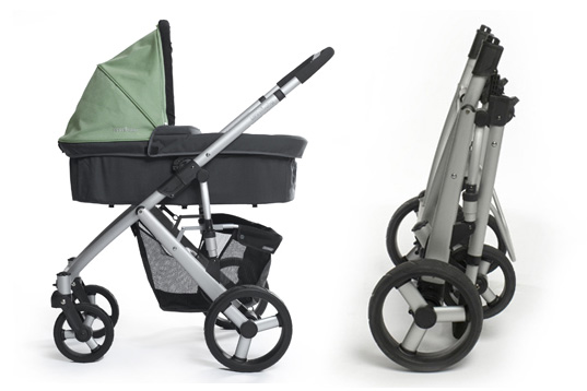 Uppababy Stroller, Uppa baby, Green Stroller, Eco stroller, sustainable stroller, environmentally friendly stroller, convertible stroller