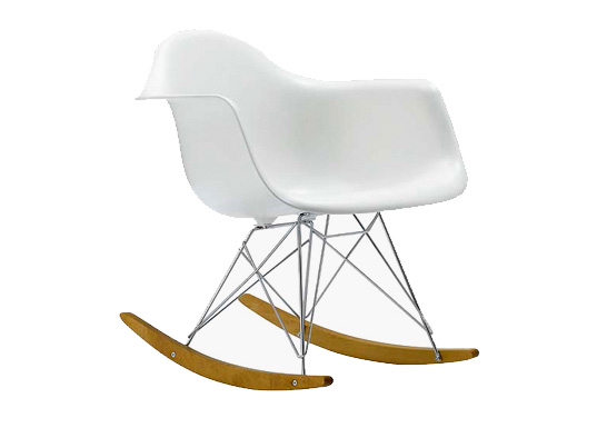 Eames Rocking Chair : The eames eco chic modern rocker inhabitots