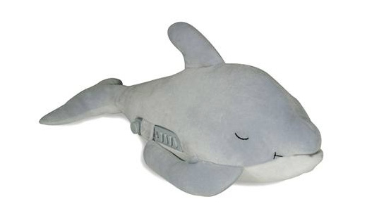 Dozy Dolphin, eco dolphin, eco sleep sheep, sleep aid, sleep toy, sleep inducing toy
