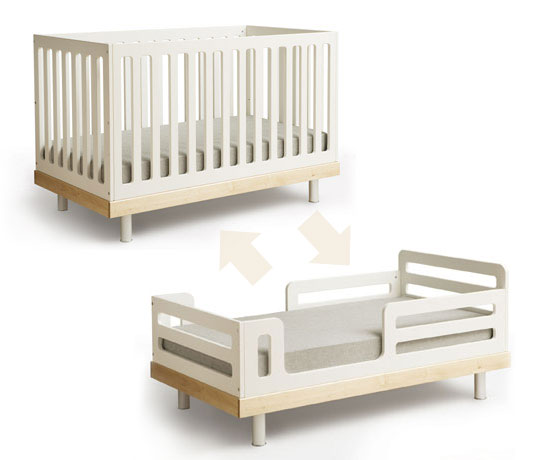 The Oeuf Classic Crib Can Cradle Your Newborn From Birth To Age 5 With The  Toddler Bed Conversion Kit U2013 A Kit Which Turns The Beautiful Classic Crib  Into A ...