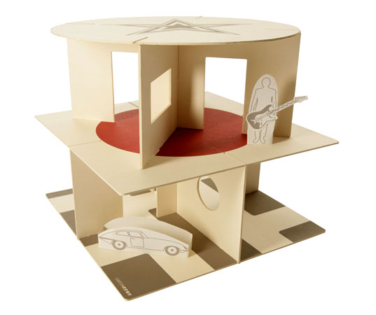 Exceptionnel Carton Chic Foldup Toys: Ethical, Recycled, and Recyclable  MN64