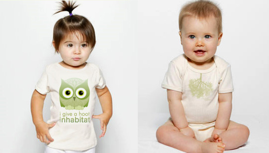 Inhabitots baby tee, Inhabitots baby onesie