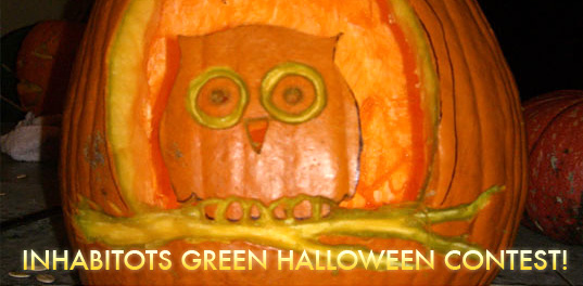 Inhabitots Green Halloween, Eco halloween, green halloween, sustainable design, kids green design, eco design contest, green halloween contest