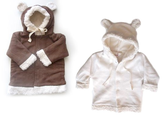 speesees organic jackets, nubius organics, bear jacket, lamb jacket, critter kids jackets