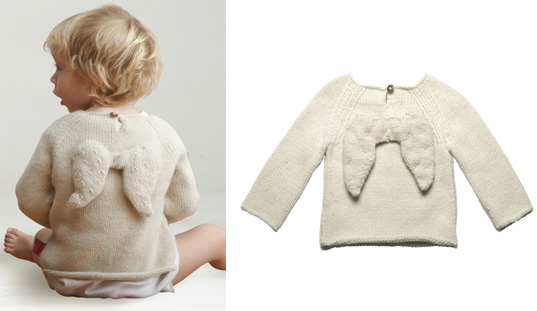 Oeuf Angel Wing Sweater, Oeuf eco friendly kids clothes