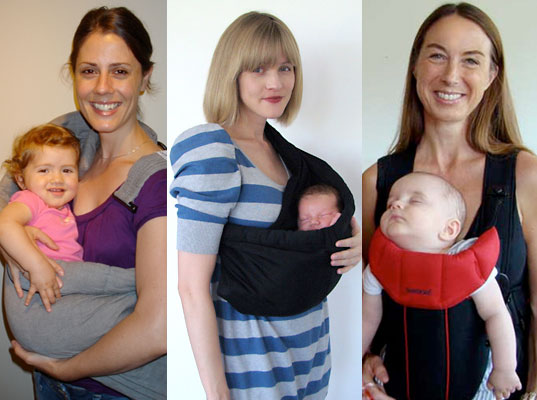 Inhabitots baby wearing