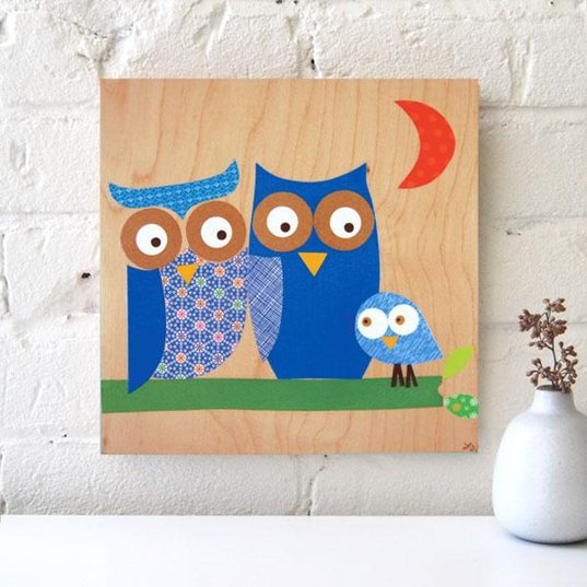 Petit Collage, Vintage, Sustainable Art Collages, Adorable, Sustainable Art Collages, Kids Art, Children's Art, Eco Baby Eco Nursery, Green Nursery, Green Baby