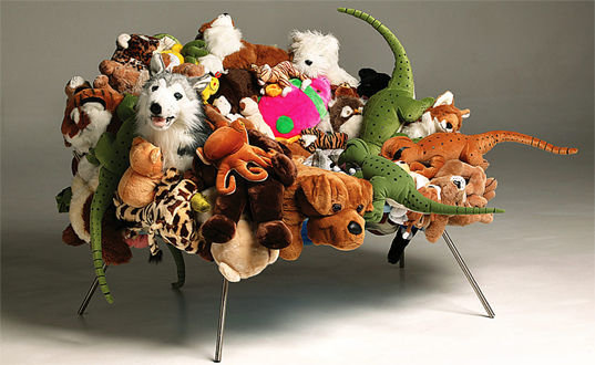camapan brothers,  capana,  greg lynn form,  plush toy chair,  recycled furniture,  recycled kids furniture,  recycled toys