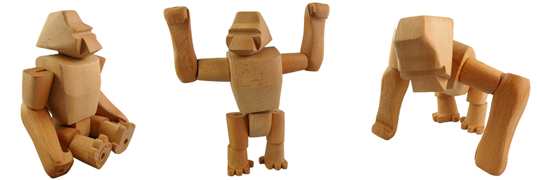 david weeks,  green gorilla toy,  hanno,  hanno the gorilla,  sustainable toy gorilla,  sustainable wood gorilla,  toy gorilla,  wood gorilla,  wooden gorilla