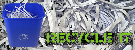 recycle christmas paper, recycle gift paper, recycle wrapping paper, shred christmas paper, shred gift paper, shred wrapping pape