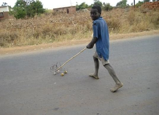 Kids In Malawi Make Their Own Toys Out Of Junk Inhabitots