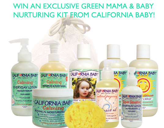 aa8432659caf WIN IT WEDNESDAY! Win an Inhabitots Exclusive Green Mama   Baby Bath ...