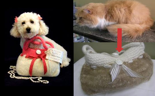 Make A Sweater From Your Pet's Fur! | Inhabitots