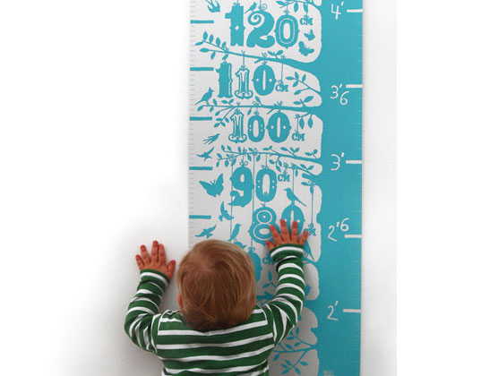 Eco Friendly Growth Charts By Bold Noble Inhabitots