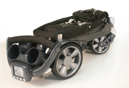 Power Folding Origami Stroller To Roll Out In October 09 Inhabitots