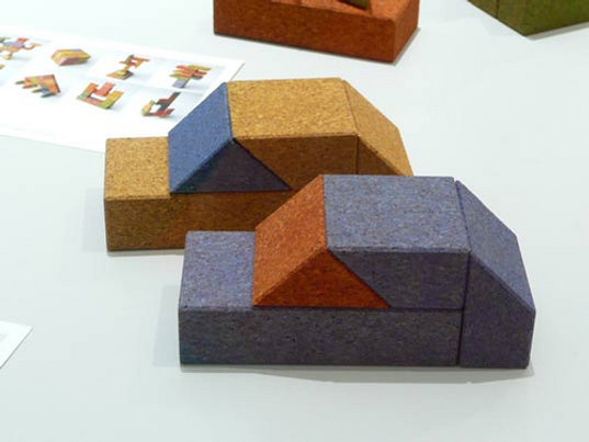 milan furniture fair, green design, sustainable design, tono 8 building blocks, kid friendly design, non-toxic paints, tetsuo tonouchi