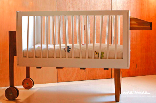 ninetonine zebra crib, eco crib, green crib, zebra crib, nine to nine crib, nine2nine crib, nine to nine designers 9 to 9 designers, zebra crib, milan furniture fair