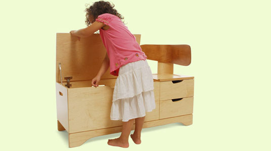 eco-friendly toy chaise, eco-friendly toy storage, green toy chaise, green toy storage, igloo play, Iglooplay, lisa albin, sustainable toy chaise, sustainable toy storage, wooden toy chaise, wooden toy storage
