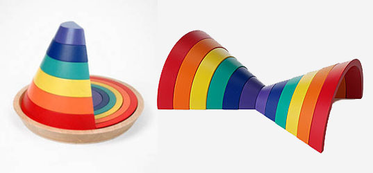 Arcobaleno Puzzle,  kid o,  kido,  line exercise cubes,  maria montessori,  montessori,  montessori toy,  reggio,  reggio emilia,  reggio emilia toy