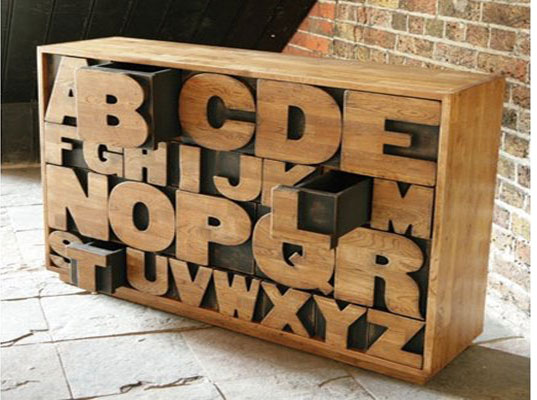 The Alphabet Drawers Are Made To Order With Forestry Stewardship Council  (FSC) Approved Oak, And Beautifully Finished With Beeswax And Polishing By  Kent And ...