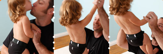 NEW Black G Diapers
