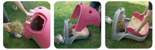 Eglu Pet Home by Omlet, eglu pet home, modern pet home, omlet pet home