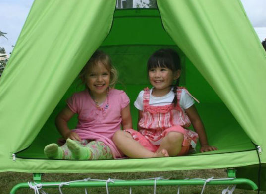 hanging tent, hanging trampoline, kids tent, nature kid, ouside tent, swing, swinging tent, tent, trampoline, treepee