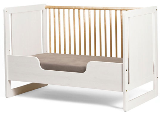 conversion crib, eco-friendly crib, Oeuf, oeuf robin collection, Toddler Bed, Toddler Bed Conversion Kit