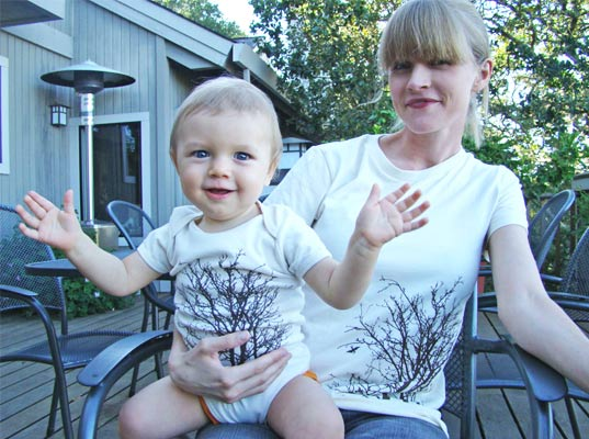 Little lark offers eco friendly mommy baby matching inhabitots