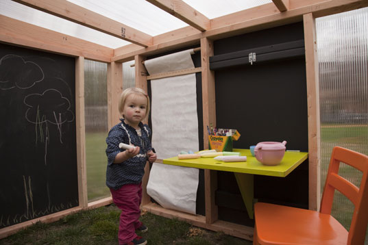 contemporary playhouse, eco-friendly playhouse, FSC certfied playhouse, KIDDO cabana, modern cabana, modern playhouse, non-toxic playhouse, prefab playhouse, prefabricated playhouse, sustainably made playhouse