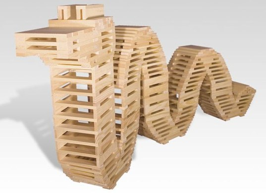 Wood Toy Blocks ~ 'citiblocs eco friendly building blocks a kid tested