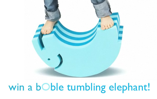 boble elephant, bObles, bObles Tumbling Animals, tumbling toys, bobles giveaway, green toy giveaway, holiday toys giveaway, green kids, eco kids