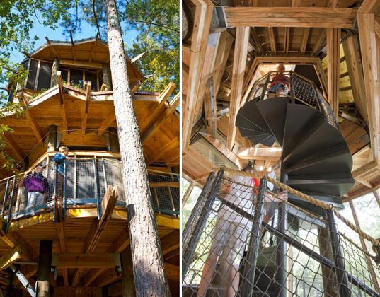Camp Twin Lakes Treehouse is a Green Utopia for Special Needs Kids
