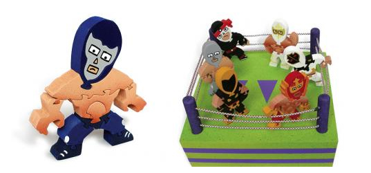caribbean puzzles, eco friendly toys, eco kids, eco puzzle, eco-friendly puzzles, fair trade mexican toys, Fair Trade toys, green kids, hecho in mexico, lucha libre toys, luchadores toys, toys made in mexico, wood puzzle