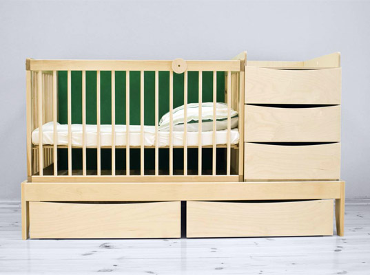 Smart Kid A Multifunctional Bedroom Set That Grows With Your Child Inhabitots