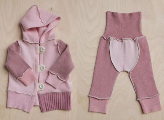 ea7ff572fa06 AGUA Up-cycled Cashmere Baby Clothing