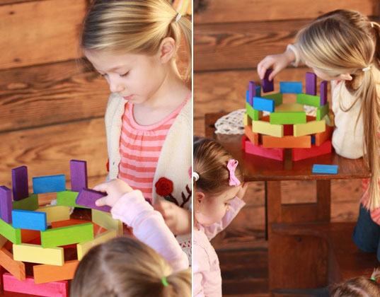 keva planks, building bricks, spiel & holz, katan, katan children's boutique, inhabitots giveaway, green kids, eco kids, green toys, eco-friendly building blocks