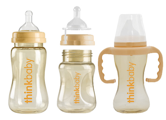 Think Baby, eco-friendly baby bottles, BPA-free baby bottles, green baby, eco baby, baby feeding, nontoxic baby bottles, green baby bottles